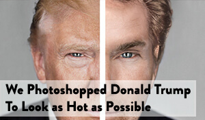 hot photoshop trump