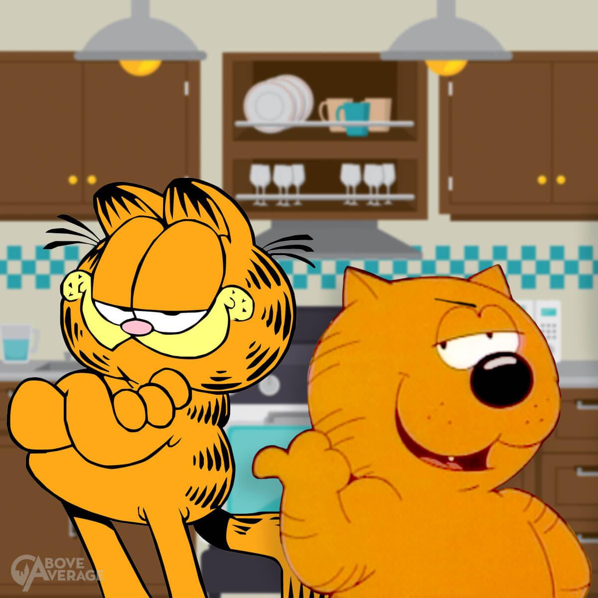 Heathcliff Garfield Inline