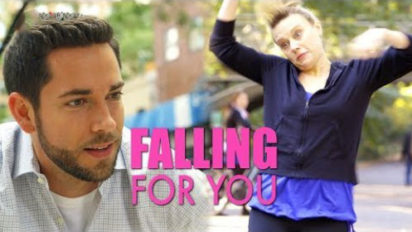 falling for you above average pictures zachary levi kate mckinnon
