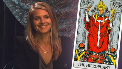 Eliza Coupe peers into her future