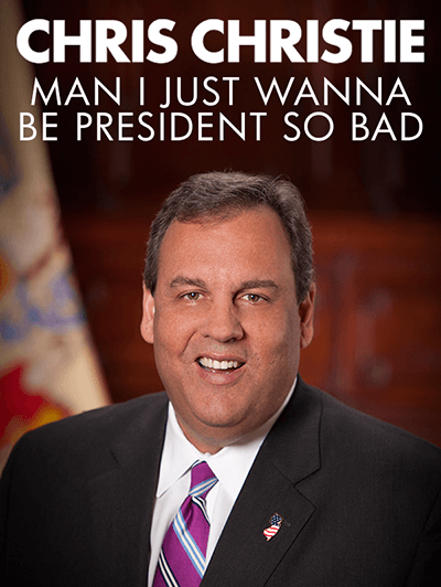 chris christie slogan 15