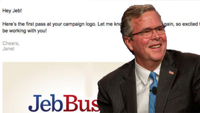 Leaked E-mail Between Jeb Bush and his Graphic Designer