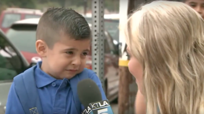 This Kid Crying On His First Day Of School Is Even Sadder With Music