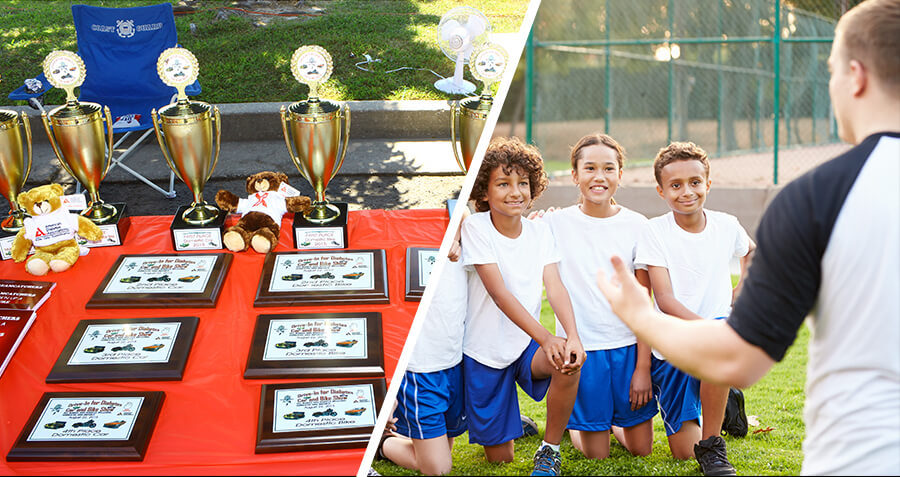 Soccer Coach Winces as Worst Player Receives Participation Trophy