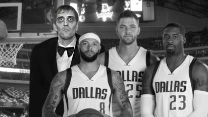 Mavs pay Dirk Nowitzki To Dress Up As Lurch for Entire NBA Season