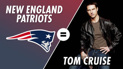The New England Patriots are Tom Cruise, With Christian Finnegan