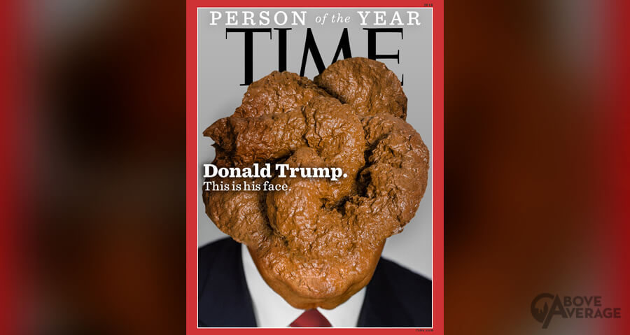 "Time Magazine Reveals Donald Trump's ""Person of the Year"" Cover"