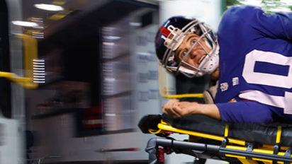 "Eli Undergoes Procedure to Unfreeze ""Manning Face"" After Brutal Loss"