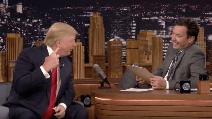 fallon trump job interview