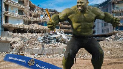 Al Jazeera Sues Ryan Howard For Hulksmashing Their Offices