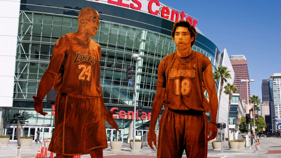 Lakers To Erect Statue Of Kobe Berating Sasha Vujacic