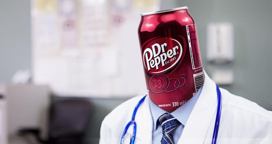 "Dr. Pepper: ""Don't Let Dr. Luke Ruin Your Faith in Fake Doctors"""