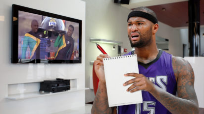 """DeMarcus Cousins Watches """"Cool Runnings"""", Learns How To Slow Clap Non-Sarcastically"""