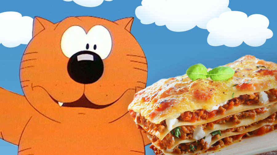 """Heathcliff: """"I Really Like Lasagna Too But Don't Want To Look Like a Copy Cat"""""""