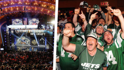 Jets Fans Descend On Chicago To Boo Unproven Teenager