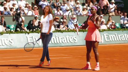 Reciprocity: Beyoncé To Be Featured In Serena's Next Doubles Match