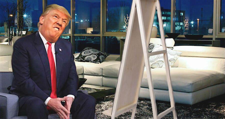 Trump Hard At Work On Cruel Stephen Hawking Impression