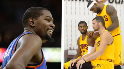 "Kevin Love: Durant Should Join The Cavs' ""Big 3 + Kevin Love"""