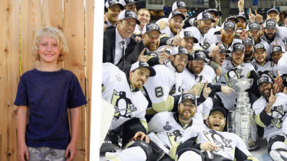 """7-Year-Old Penguins Fan: """"Finally, I Can Die In Peace"""""""