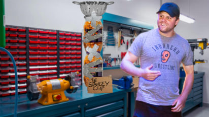 Phil Kessel Up All Night Making New Stanley Cup After Losing Real One