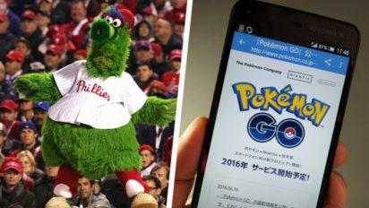 Phillie Phanatic Kidnapped In Pokémon Go Mistaken Identity Incident