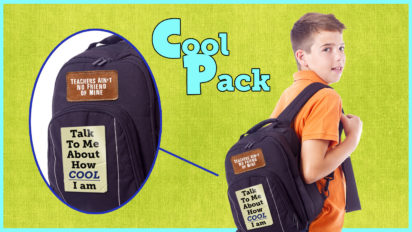 This New Backpack Will Reduce Bully Risk And Increase Compliments