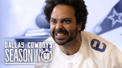 Dallas Cowboys Fans' Season In 60 Seconds