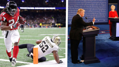 Saints Defense Admit To Watching Debate While On The Field