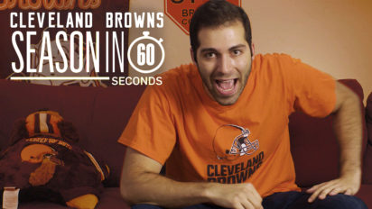 Cleveland Browns Fans' Season in 60 Seconds