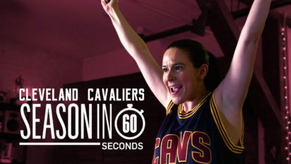 Cleveland Cavaliers Fans' Season in 60 Seconds