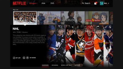 In Hopes Of Audience Boost, NHL Releases Entire Season For Binge Watching