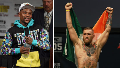 Mayweather Challenges McGregor To Five Years Of Acting Coy