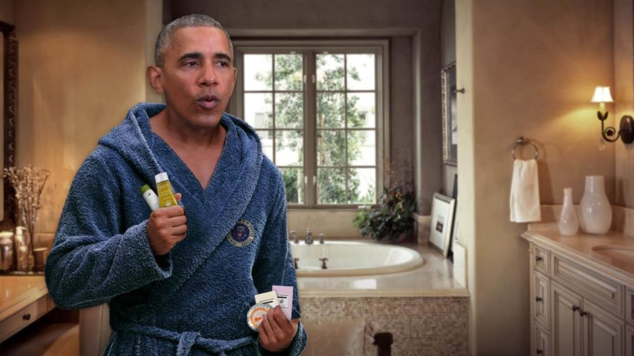 Obama Overachiever >> Obama Already Stealing White House Soaps