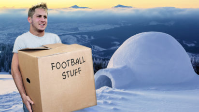 Goff Misunderstands Concept Of Secret Santa, Quietly Moves To North Pole
