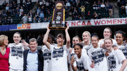 NCAA Awards UConn Women 6-Round Bye Directly To Trophy Ceremony