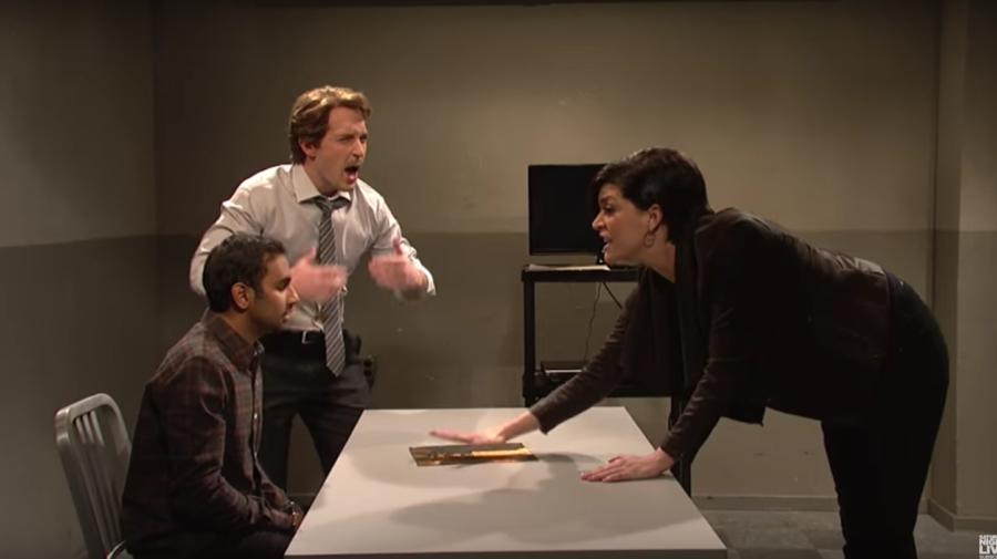 two cops interrogate a guy who doesnt like la la land on snl