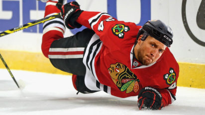 """New Year, New Me"" Says Tim Tebow at Blackhawks Tryouts"