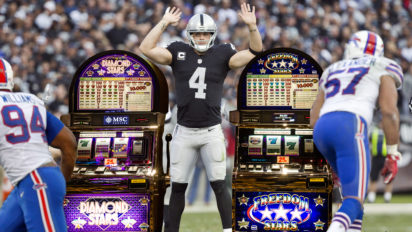 Effective? Raiders To Replace Offensive Line With Slot Machines
