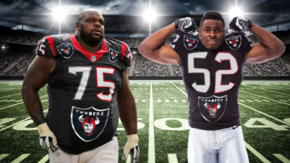 "Raiders, Texans Form ""Superteam"" That Still Sucks Because It Has No QB"
