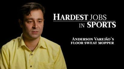 Anderson Varejao's Floor Sweat Mopper | Hardest Jobs in Sports