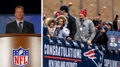 Goodell Penalizes Pats 20 Yards For Celebrating Super Bowl Win