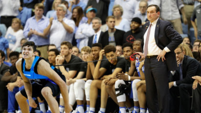 Report: Coach K To Keep Grayson On Weird Child-Leash During Tourney