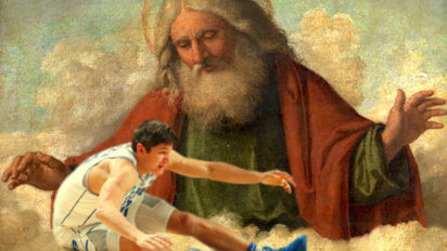 Sad: Grayson Allen Trying Desperately To Trip God For Letting Him Lose