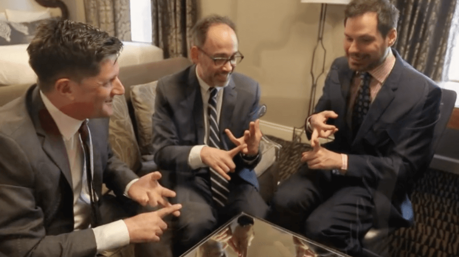 Michael Showalter, David Wain, & Michael Ian Black Are Back Together For A Brand New Stella Video