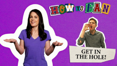 """Screaming """"Get In The Hole!"""" 