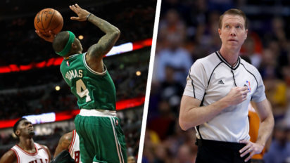 Celtics, Bulls Forced To Use Second Ball When Thomas Floater Stays In Air