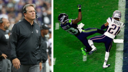 Raiders Draw Up Marshawn Play For If They're 1 Yard From Super Bowl Win