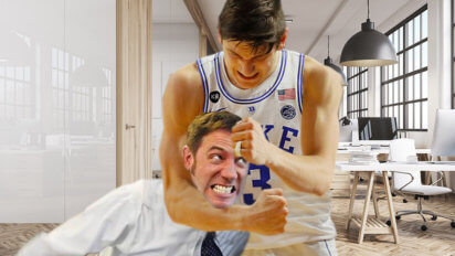Whoops: Grayson Allen Returns To Duke After Giving Every Agent A Noogie