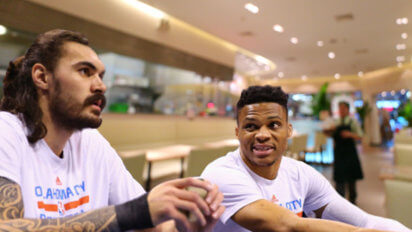 Hold On, Steven: Westbrook Orders For Adams At Restaurant