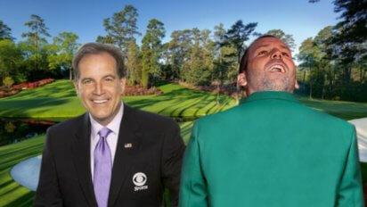Huge Choke: Sergio Garcia Puts On Green Jacket Backwards